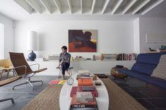 Chris Nguyen / Analog|Dialog Eames Aluminum Group and Eames Compact sofa #eames