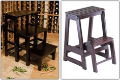 How To Access Your Wines In Style - go for our funky step stools!
