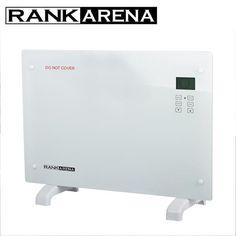 Glass panel heater