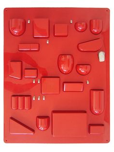 Original Mid Century Modern Wandbehälter von MUNICHMODERN auf Etsy Maurer, Plastic Art, Kydex, Wall Organization, My Furniture, Space Age, House Interiors, Astronaut, Bauhaus