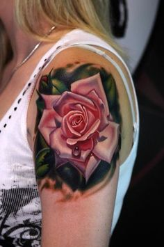 rose tattoo #tattoo #ink #art