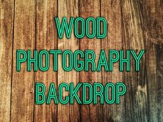 DIY Wood Photography Board Backdrop