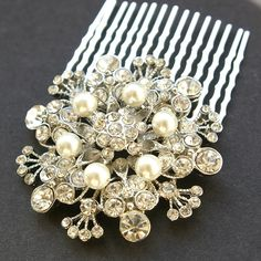 So beautiful!  Would look lovely as part of a wedding ensemble.