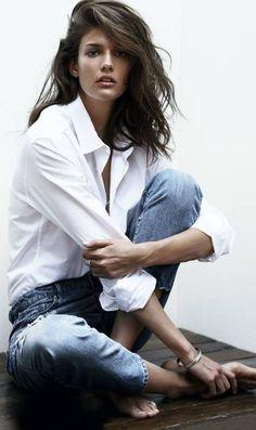 Intemporelle la #chemise #masculine ? Notre it #fashion chez M&D by Carole&Juliette...!