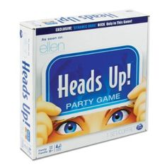 Head's Up Party Game-yay now a board game! Good for Christmas Eve to play with family