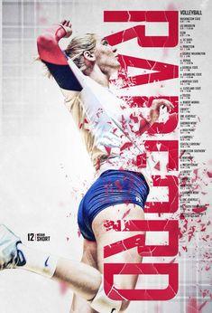 2015 Radford Volleyball Poster