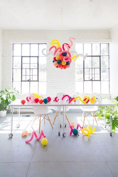 DIY balloon chandelier - The House That Lars Built