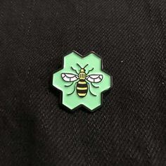 Worker Bee Enamel Pin