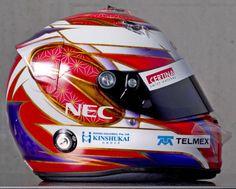 F1 Helmet 2012 Kamui Kobayashi (Sauber F1 Team)