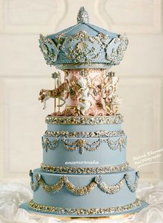 Woah, I'm astonished 😮😍 - cool wedding cakes Sweet Cakes, Cute Cakes, Pretty Cakes, Yummy Cakes, Crazy Cakes, Fancy Cakes, Cool Wedding Cakes, Wedding Cake Designs, Unique Cakes
