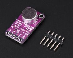 Electret Microphone Amplifier Module MAX9814 Auto Gain Control For Arduino $6.50 now  http://www.icstation.com/electret-microphone-amplifier-module-max9814-auto-gain-control-arduino-p-7957.html