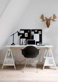 Eames Chair Workspace