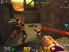 Hmm feel like fragging: Quake III Arena