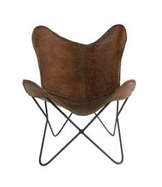 Butterfly Chair-Leather | Chair | Old Bones Furniture Company
