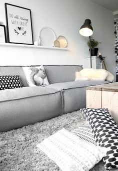 If you want a Scandinavian living room design, there are some things that you should consider and implement for this interior style. Wood as a material has an important role as well as light colors, because they give the living… Continue Reading → Living Room Grey, Living Room Interior, Home Living Room, Living Room Designs, Living Room Decor, Apartment Living, Interior Livingroom, Apartment Ideas, Apartment Couch