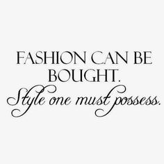 Style quote | thebrunette-one