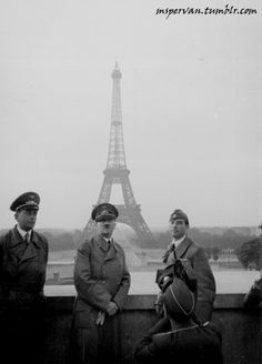 Adolf Hitler in Paris, June 23, 1940 / 242-HLB-5073-20