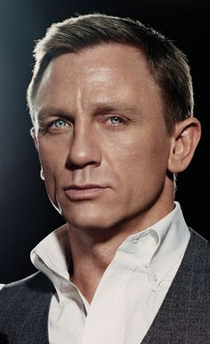 Daniel Craig by James Dimmock