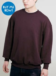 For mens fashion check out the latest ranges at Topman online and buy today. Topman - The only destination for the best in mens fashion Cherry, Asos, Dark, Sweatshirts, Long Sleeve, Sleeves, Sweaters, Mens Tops, T Shirt