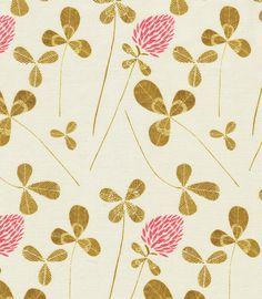 "penelopewaits:  "" clover fabric from melinda josie  """