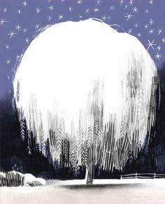 Once Upon a Northern Night: A Loving Illustrated Lullaby of Winter's Whimsy | Brain Pickings