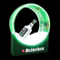 Bottle glorifiers are great tools to capture the attention of patrons at clubs, bars and restaurants. Single bottle glorifier, custom size available.