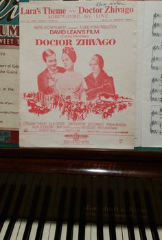 Memories.  I loved this movie and learned to play the signature tune both on piano and guitar ... Was at a friend's home to check out her new piano and saw this ... Memories #memories #greatmovies #piano #havingfun