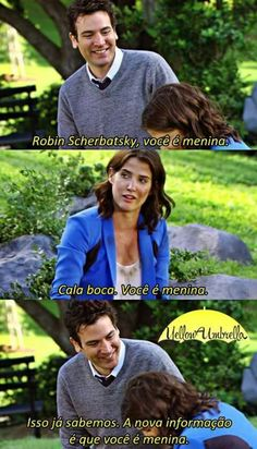 Movies And Series, Best Series, Movies And Tv Shows, Tv Series, How I Met Your Mother, I Meet You, Told You So, Ted And Robin, Romantic Couples