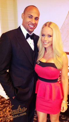 Kendra and Hank at the Red Tie Affair benefiting the Santa Monica chapter of the American Red Cross