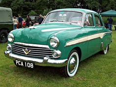 Vauxhall Cresta E Series !954-1957 2.3Litre straight 6 engine