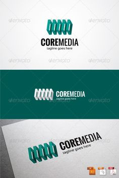 Core Media Logo  #GraphicRiver        Core Media Logo An excellent logo template related to the Architect, Media Hosting Company, Media Server, Web Developer, etc. Highly made for those who need a Heavy, Strong, Trustworthy, Memorable logo, Editable, Simple and Versatile. Features :   100 % Vector (AI, EPS, PDF)  Editable and Resizable  CMYK color mode (for print and web purpose)  Full Customizable  Font Link  Font :   Oswald  Sansation      Created: 9July13 GraphicsFilesIncluded: VectorEPS…