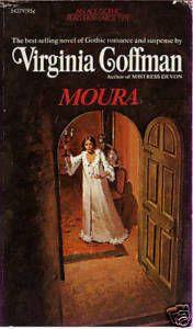 Moura by Virginia Coffman, gothic romance