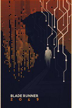 Blade Runner 2049 Tribute on Behance Blade Runner Poster, Blade Runner Art, Blade Runner 2049, Fiction Movies, Science Fiction, Blade Runner Wallpaper, Man In Black, Denis Villeneuve, Arte Cyberpunk