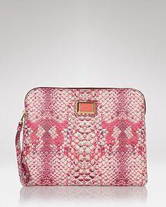 Pink snakeskin...hmmm