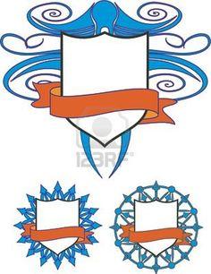 Illustration of Coat of arms. Vector design elements vector art, clipart and stock vectors. Vector Design, Vector Art, Arm Art, Party Organization, Coat Of Arms, Art Journaling, Scouts, Design Elements, Art Projects