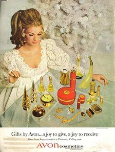 1960s Avon ad  www.youravon.com/anniewood