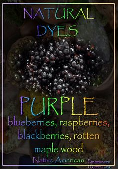 071514 blackberries ~ PURPLE - blueberries, raspberries, blackberries, rotten maple wood