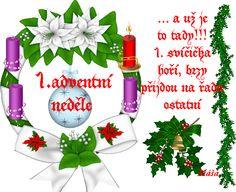 1. Adventní neděle Christmas Bulbs, Merry Christmas, Advent, Table Decorations, Holiday Decor, Merry Little Christmas, Christmas Light Bulbs, Merry Christmas Love, Dinner Table Decorations