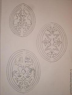 Пасхальное дерево с ажурными яйцами. Мини МК - Ярмарка Мастеров - ручная работа, handmade