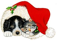Create Holiday Cards and Decorations Using Free Christmas Clip Art: Public Domain Clip Art: Christmas Dog Christmas Ornaments, Christmas Placemats, Christmas Puppy, Christmas Animals, Christmas Love, Christmas Cross, Christmas Pictures, Christmas Greetings, Merry Christmas