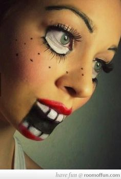 Halloween makeup idea.