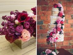Berry Tones with Gold - 12 Perfect Combinations for Color Schemes for Fall Weddings - EverAfterGuide