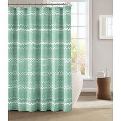 kensie Mikaela Shower Curtain