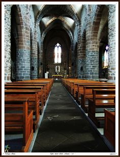 L'église Saint-André, Massiac [Cantal]