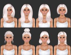 Eris Sims 3 CC Finds (plumblobs: All hairs are available for...)