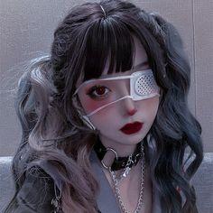 Edgy Makeup, Cute Makeup, Makeup Looks, Aesthetic People, Bad Girl Aesthetic, Cute Korean Girl, Asian Girl, Style Lolita, Japonese Girl