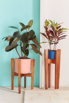 Slide View: 1: Knock Down Plant Stand