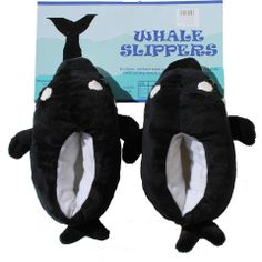 Childrens' Orca Slippers   The Whale Museum
