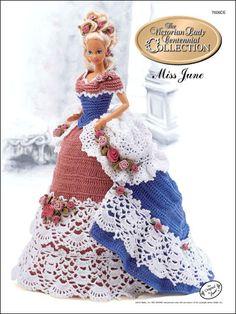 Crochet - Doll Patterns - Bed Doll Patterns - Centennial Miss June 1993