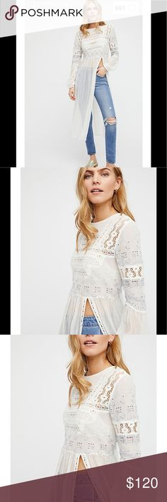 FREE PEOPLE Sweet Sunny Days Tunic Free people Sweet sunny days Tunic size small. FIRM ON PRICE Free People Other